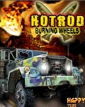 Hotrod Burning Wheels (240x320) S60v3